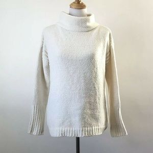 Catherine MaLandrino Cowl Neck knit Sweater